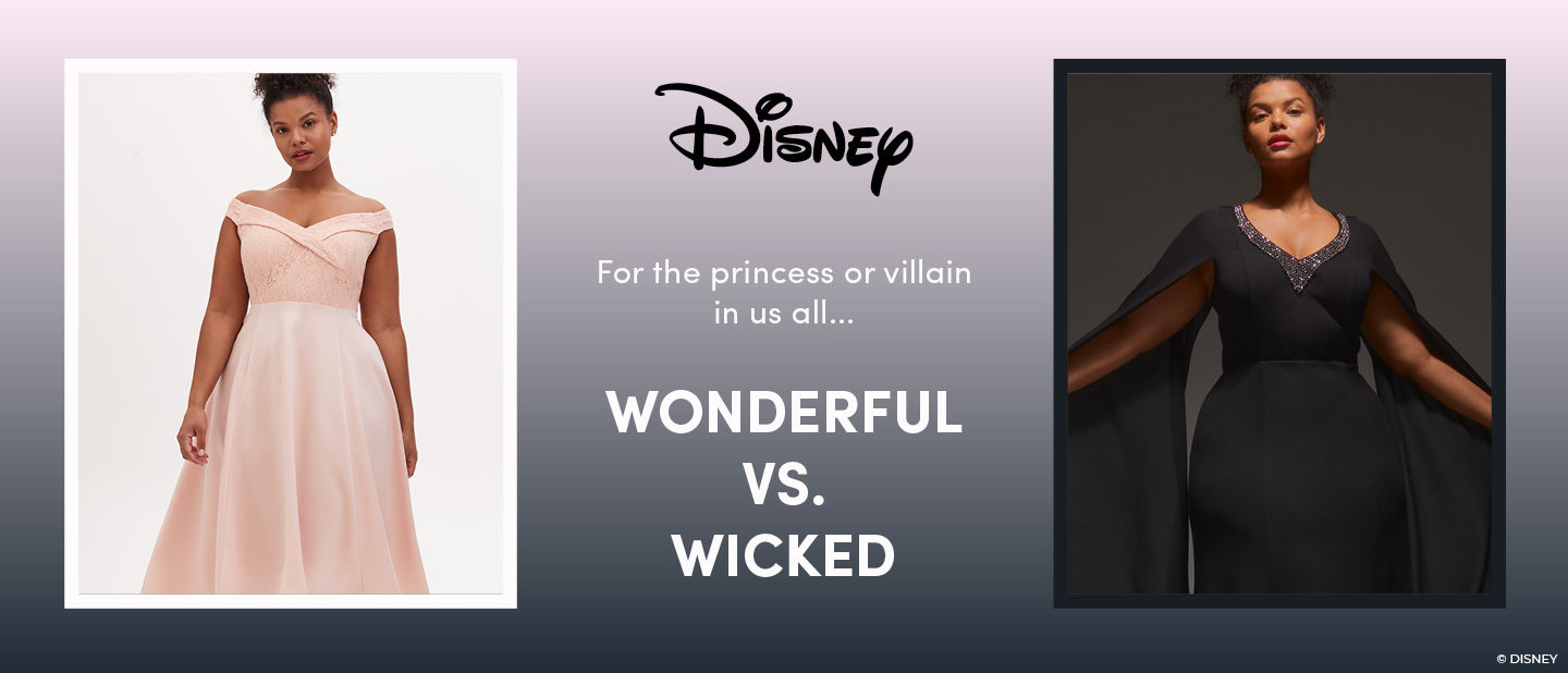 Disney for the princess and villian in us all. wonderful vs wicked