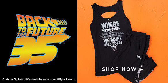 Back to the Future, Shop Now