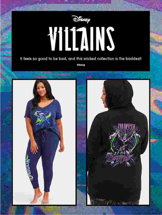 Disney Villains It feels so good to be bad, and this wicked collection is the baddest.