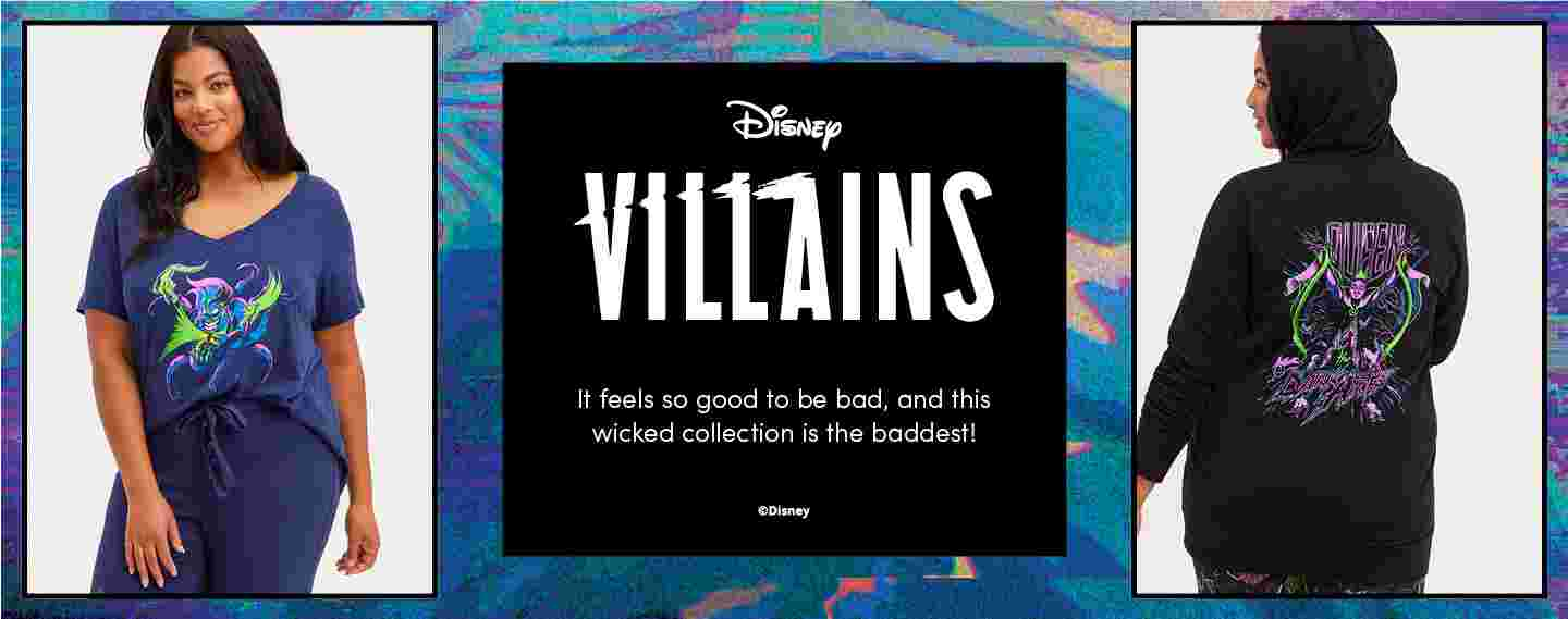 Disney Villains It feels so good to be bad, and this wicked collection is the baddest. .