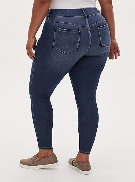 Jegging - Super Stretch Medium Wash, CASCADE, alternate