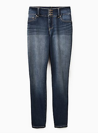 Jegging - Super Stretch Medium Wash, CASCADE, flat