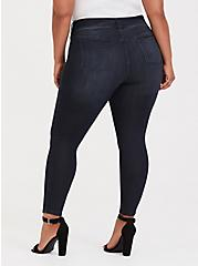 Jegging - Super Stretch Dark Wash, MIDNIGHT, alternate