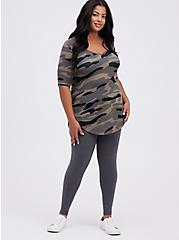 Premium Legging - Charcoal Grey, CHARCOAL HEATHER, hi-res
