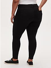 Plus Size Jegging - Super Stretch Black, BLACK, alternate