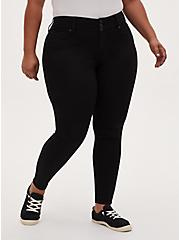 Plus Size Jegging - Super Stretch Black, BLACK, hi-res