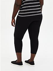 Crop Premium Legging - Black, DEEP BLACK, alternate