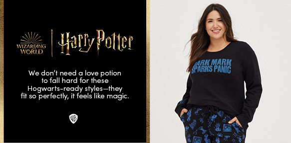 Harry Potter. We don't need a love potion to fall hard for these Hogwarts-ready styles - they fit so perfectly, it feels like magic.