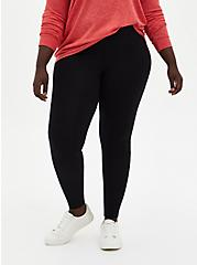 Plus Size Premium Legging - Black, DEEP BLACK, alternate