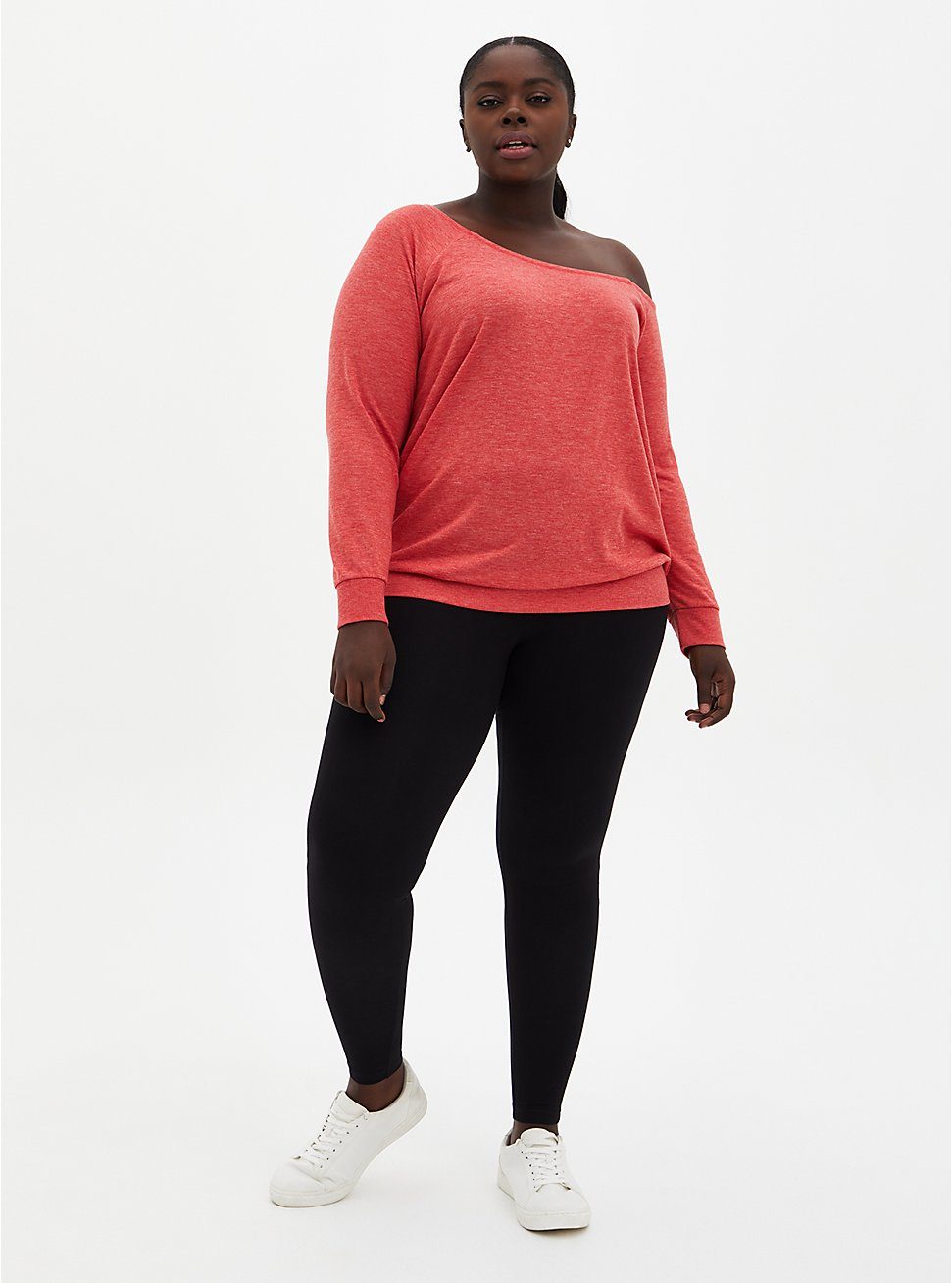 Plus Size Premium Legging - Black, DEEP BLACK, hi-res