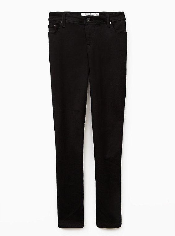 Luxe Skinny Jean - Luxe Stretch Black, , flat
