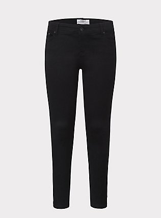 Plus Size Luxe Skinny Jean - Luxe Stretch Black, BLACK, ls