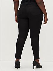 Luxe Skinny Jean - Sateen Stretch Black, , fitModel1-alternate