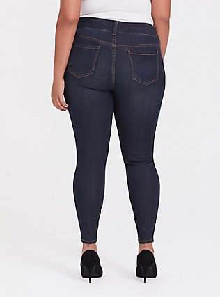 Jegging - Super Stretch Dark Wash, NIGHT SHADE, alternate