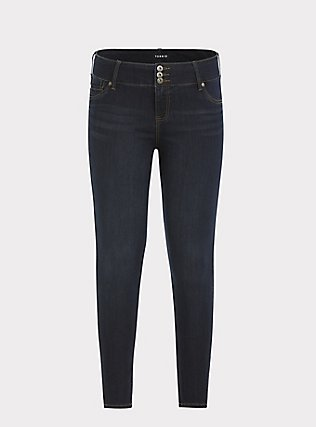 Jegging - Super Stretch Dark Wash, NIGHT SHADE, flat