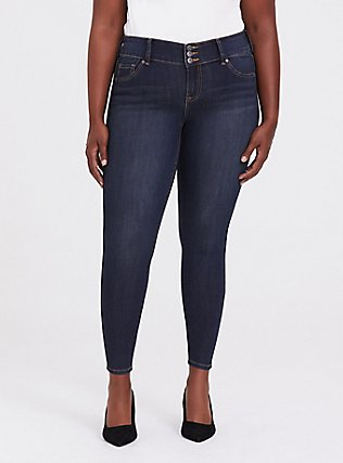 Jegging - Super Stretch Dark Wash, NIGHT SHADE, hi-res