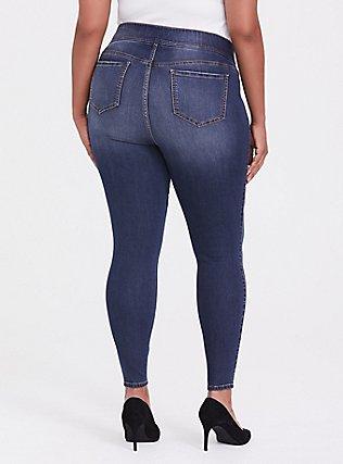 Lean Jean - Super Stretch Medium Wash, CASCADE, alternate