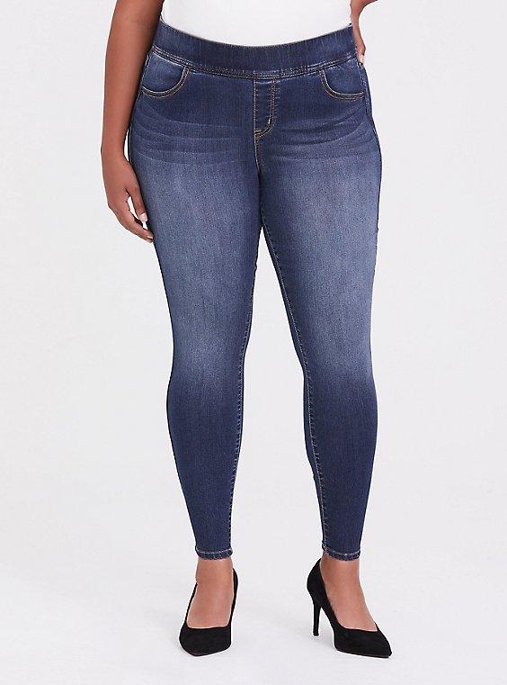 Lean Jean - Super Stretch Medium Wash, , hi-res