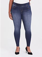 Lean Jean - Super Stretch Medium Wash, CASCADE, hi-res