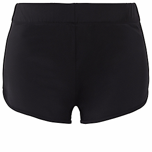 Black Dolphin Hem Swim Short