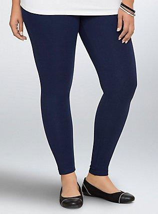 Premium Legging - Navy, BLUE, hi-res