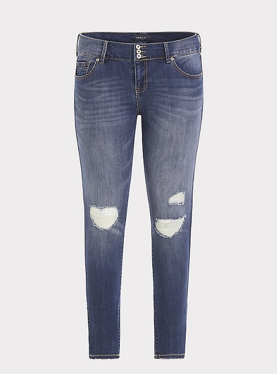 Jegging - Premium Stretch Medium Wash, , flat