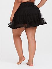 Black Mini Petticoat, BLACK, alternate