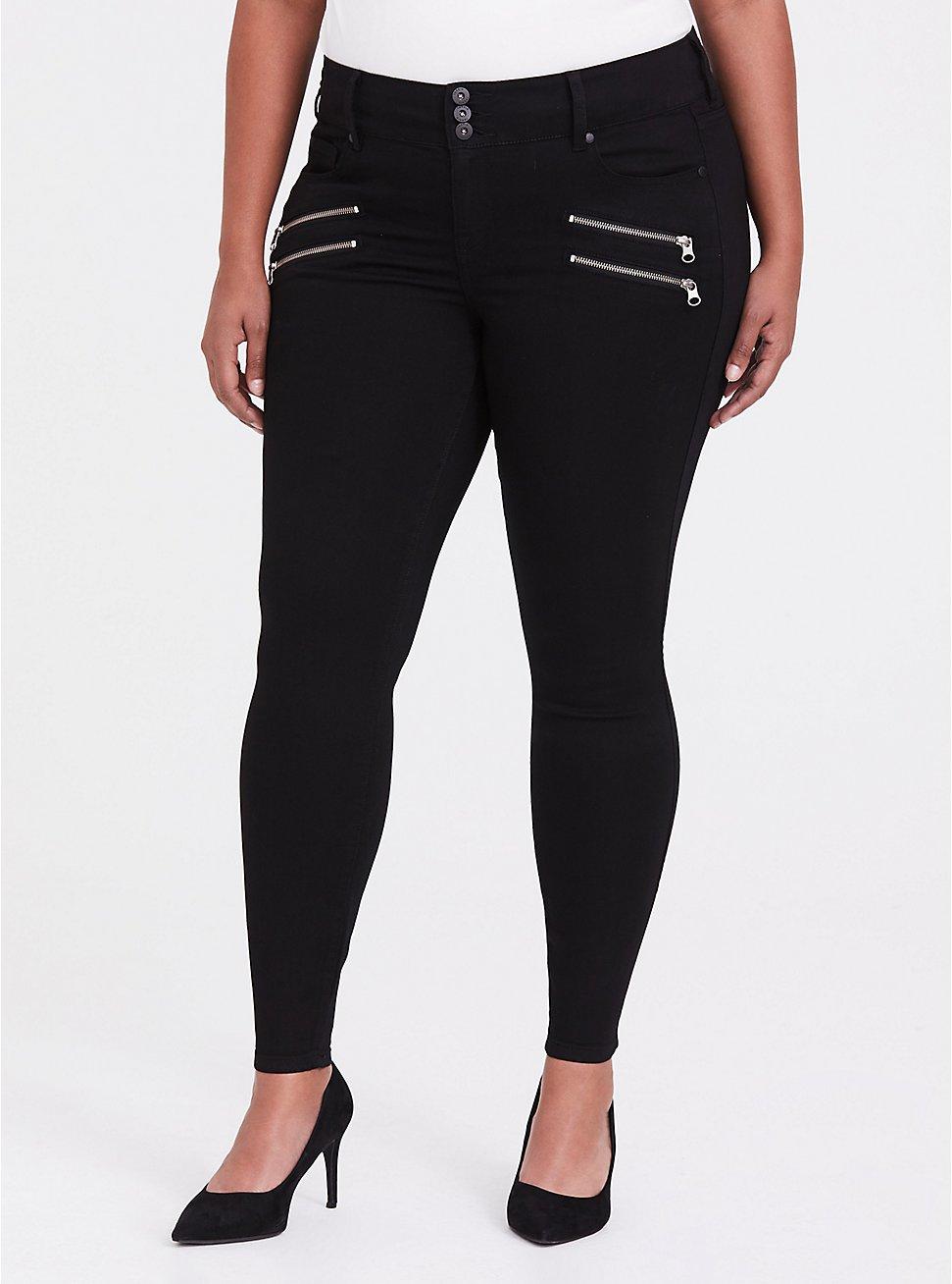 Jegging - Super Stretch Black, BLACK, hi-res