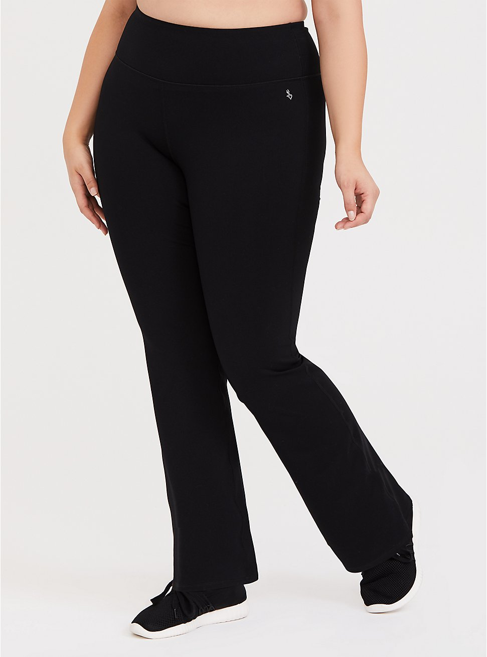 Plus Size Bootcut Active Pant, DEEP BLACK, hi-res