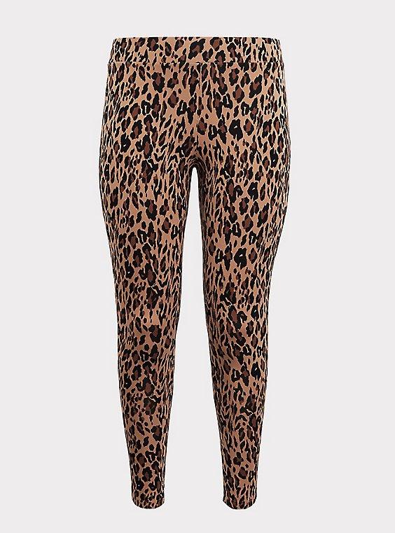 Premium Legging - Leopard Print, , flat