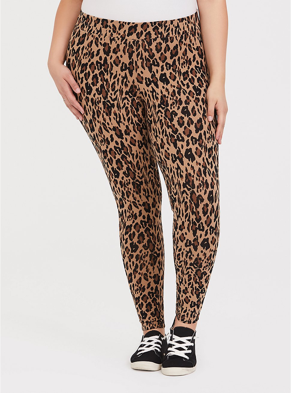 Premium Legging - Leopard Print, MULTI, hi-res