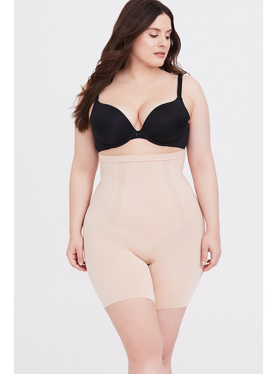 SPANX® - Nude OnCore High-Waisted Mid-Thigh Short, NUDE, hi-res