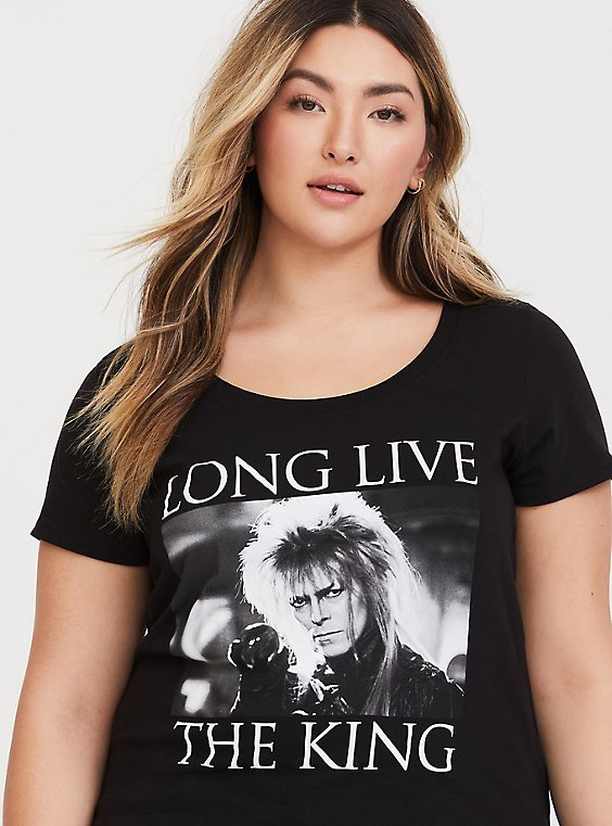 Not Today Goblin King Labyrinth-Inspired Bodysuit