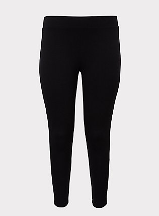 Premium Legging - Lattice Mesh Insert Black, BLACK, flat