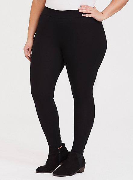 Premium Legging - Lattice Mesh Insert Black, BLACK, hi-res