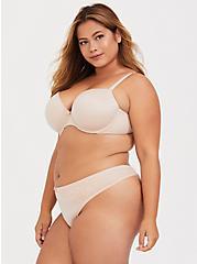 Torrid Curve Body™ Nude Lightly Lined Demi Bra, ROSE DUST, alternate