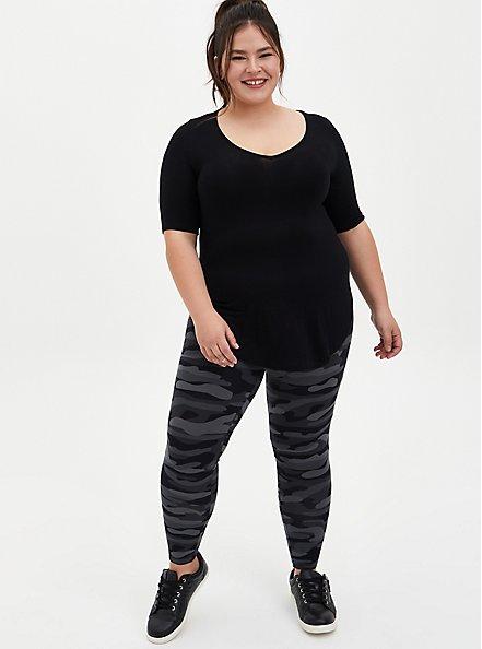 Premium Legging - Camo Dark Grey, CAMO, alternate