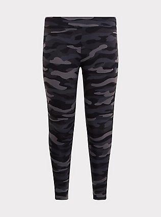 Premium Legging - Camo Dark Grey, CAMO, flat