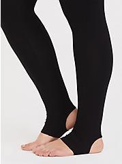 Premium Legging - Stirrup Inset Black, BLACK, alternate
