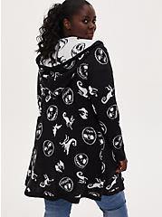 Disney The Nightmare Before Christmas Black Cardigan with Hood, MULTI, alternate