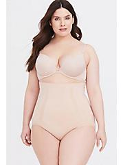 Plus Size SPANX® - Nude OnCore High-Waisted Brief Panty, NUDE, hi-res