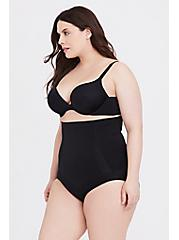 Plus Size SPANX® - Black OnCore High-Waisted Brief Panty, RICH BLACK, alternate