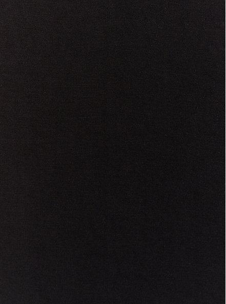 Favorite V-Neck Tunic Tee - Super Soft Black , DEEP BLACK, alternate