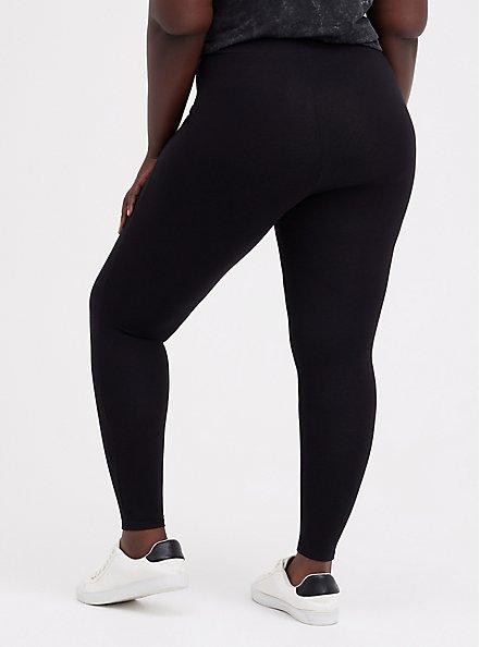 Plus Size Slim Fix Premium Legging - Black, BLACK, alternate