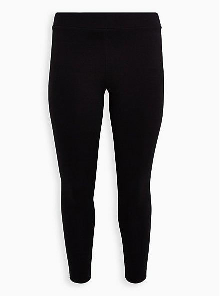 Plus Size Slim Fix Premium Legging - Black, BLACK, hi-res