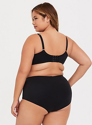 Torrid Curve Body™ Black Lightly Lined T-Shirt Bra, RICH BLACK, alternate