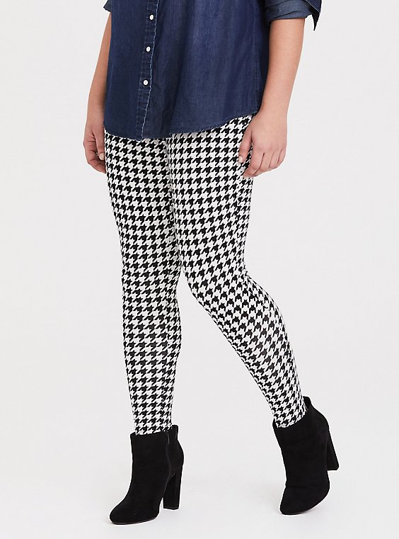 Premium Legging - Houndstooth, MULTI, hi-res