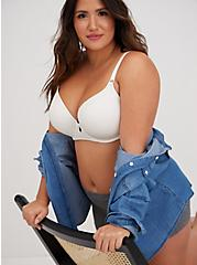 White 360° Back Smoothing™ Lightly Lined T-Shirt Bra, BRIGHT WHITE, alternate