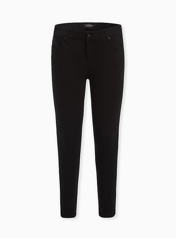 Bombshell Skinny Jean - Premium Stretch Black, BLACK, ls