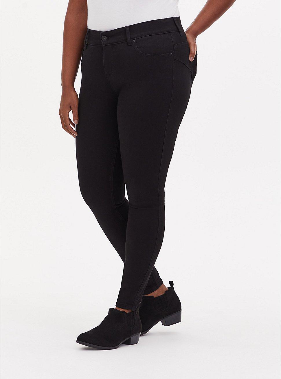 Bombshell Skinny Jean - Premium Stretch Black, , fitModel1-hires
